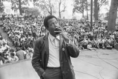 Eldridge Cleaver at American University: 1968 (washington_area_spark) Tags: black panther party eldridge cleaver african american liberation struggle civil rights militant washington dc university 1968