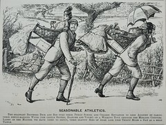 Seasonable Athletics! -  Punch 1873 (AndyBrii) Tags: punch 1973 wit satire woodcuts engravings