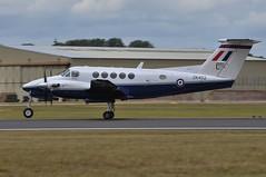 17th July 2010 RIAT Fairford (rob  68) Tags: 17th july 2010 riat fairford super king air 200 zk452 l grafl serco raf no 3 fts 45 r squadron cranwell