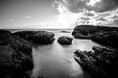 Fife LE (4 of 10) (Muse2k8) Tags: fife scotland long exposure coast coastal sea beach black white zig zag st monans