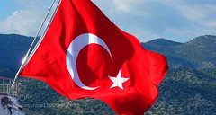 Turkey (hammockbuddy) Tags: ifttt 500px sky travel freedom wind symbol wave pole country outdoors flagpole national flag unity pride banner emblem patriotism democracy administration no person