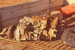 saudi087 (Vonkenna) Tags: saudiarabia seismicexploration 1980s bellhousing gearbox surveyor breakdown