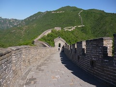 Up against the wall (Ben Zabulis) Tags:        peoplesrepublicofchina wall masonry stone mortar asia fareast prc china thegreatwallofchina thegreatwall 5photosaday flags flagstones building parapet length distance landscape   the10000milelongwall thetenthousandmilelongwall battlements signaltower mutianyu construction civilengineering