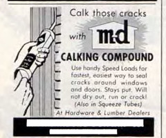 Sat Evening Post ad (M-D Building Products) Tags: md building products
