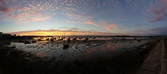 Sunset panorama - Poole Harbour, Dorset - taken with Samsung Galaxy S6 Edge+ (Madmatteo1) Tags: poole dorset sea view sunset panorama sun samsung galaxy s6edge smartphone sandbanks