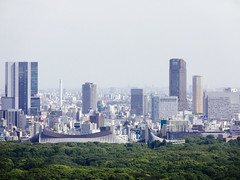 Shibuya (Dick Thomas Johnson) Tags: japan tokyo shibuya    yoyogi    yoyogipark park     buildings skyscraper  architecture structure