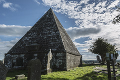 Pyramid Tomb (d1g1dav3) Tags: wicklow arklow avoca nikon graves cemetary tomb pyramid sun sunny d5200 raw tombstones eternity