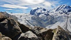 Icy world (Switzerland) (armxesde) Tags: pentax k3 ricoh schweiz switzerland alpen alps berge mountains monterosa gornergrat glacier gletscher grenzgletscher snow schnee eis ice clouds wolken