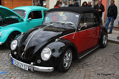 Volkswagen Coccinelle Cabriolet (fangio678) Tags: molsheim cox show 15 05 2016 kfer coccinelle vochos voiture voituresanciennes ancienne collection cars classic coche oldtimer youngtimer allemande cabriolet