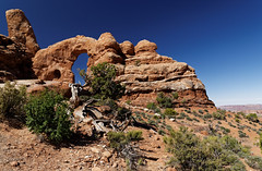 Arches national park - Utah (Guillaume DELEBARRE (Guigui-Lille)) Tags: arches usa landscape desert bluesky blue nature marvel america canon 6d tamron2470f28