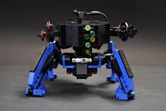 Assault walker tank (Faber Mandragore) Tags: lego moc scifi legomech spider tank assault walker