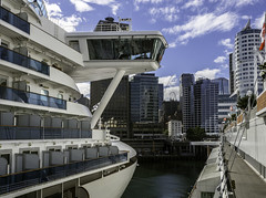 A Princess wing (Tony Tomlin) Tags: starprincess vancouvercruiseterminal vancouverport princesscruises shipbridge harbour bridgewing ocean cruiseship britishcolumbia bc canada
