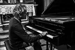 Robert Lehrbaumer, rehearsal, PianoEchos 2016 (Davide Tarozzi) Tags: robertlehrbaumer rehearsal pianoechos2016 pianoechos piano pianist pianista
