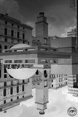 Riflessi (Stefano Stanga) Tags: brescia fuji x100s 35mm vittoria riflessi bianconero blackandwhite reflexes archi architecture italia italy art