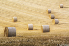 Autumn (KCL Images) Tags: shadows sunshine straw autumn bales