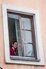 Pertisau July 2014 (Roger Hanuk) Tags: groupofpeople austria schwarz window woman women schwaz tyrol