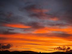 (turgidson) Tags: panasonic lumix dmc g7 panasoniclumixdmcg7 panasonicg7 micro four thirds microfourthirds m43 g lumixg mirrorless x vario 35100mm 35100 f28 hhs35100 telephoto zoom lens panasonic35100 panasoniclumixgxvario35100mmf28 silkypix developer studio pro 7 silkypixdeveloperstudiopro7 raw bray wicklow ireland sun sunset evening september red sky orange clouds p1050026