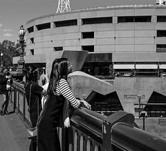 Bridge (jayta3) Tags: melbourne australia streetphotography bridge girl south bank looking