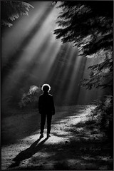Visions of LIght (Maclobster) Tags: light shadows breath beams keithgrajala