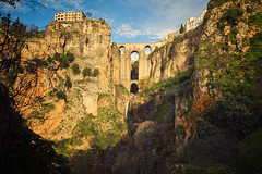 Ronda is not a myth (Allard One) Tags: bridge winter mountains nature beautiful stone architecture landscape waterfall spain nikon december cityscape arch hill surreal andalucia ronda vista mirage brug andalusia epic newbridge malaga height breathtaking myth spanje 2012 mythical puentenuevo walledtown 1793 extremeterrain epical eltajocanyon andalucie d700 impressiveview canyonfloor 120metres nikond700 nikkor2470mmf28 paradorhotel nikonfx allardone allard1 fullframepower guadalevinriver allardschagercom hanginghousesoftajo