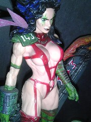 Julie Strain HEAVY METAL 2000 F.A.K.K. Fantasy Figure...  Shot with my Cell Phone Camera is a lot of fun!  It won't replace my Canon 40D, for sure, but it is fun and Quick. ~ IMAG0355 (BrandyVSOP) Tags: camera red woman records tower statue metal lady female toy doll 2000 julie phone action vinyl picture cell plastic fantasy figure heavy figures exclusive collectibles pvc figureine strain regular redoutfit 2013 fakk2 dpstoys htcevov4g faakk2 sexyfantascy
