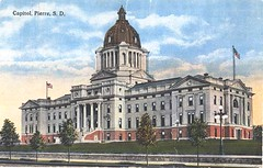 Capitol Post Card (South Dakota State Historical Society) Tags: city house history museum southdakota town construction community senator pierre politics capital governor government historical mitchell campaign dakota legislature huron 1904 1890 senate territory representative legislative june25 legislator dakotaterritory temporarystatecapital