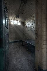 Solitary confinement (Explore) (sj9966) Tags: old greatbritain england urban cold abandoned canon dark dead eos peeling paint unitedkingdom decay empty exploring suicide prison forgotten cells derelict decayed decaying 1022 penitentiary urbex incarceration imprisoned 60d sj9966