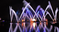 Epcot Disney world (wdwSteve) Tags: world epcot nikon fireworks sigma disney f28 d90 1750mm nikond90christmas