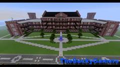 Minecraft Build: Woods Hall – The University of Alabama (ViewsForMe) Tags: building brick college hall pc woods university alabama creative gaming u build the – minecraft