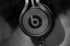 Project 365 - 58/365 - 2/2/2013 (DMD67) Tags: portrait bw music 35mm nikon teenager faceless dre beats d5000 nikkorafs35mm