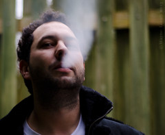 Adonis Smoking (Just Ard) Tags: nikon smoking axios project365 nikon50mm18d 11365 nikond7000