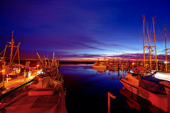 Richmond Steveston Fisherman's Wharf at Twilight (TOTORORO.RORO) Tags: longexposure travel winter light sunset panorama fish canada cold reflection nature colors night vancouver port reflections lens twilight dock bc view zoom market dusk britishcolumbia sony wideangle richmond fishermanswharf alpha fraserriver f4 hdr steveston oss nex greatervancouver shadyisland mirrorless 1018mm nex6 sel1018