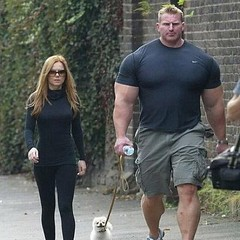 What a pair! #Steroids #FunnyDog #Walking (chris.dill) Tags: walking pair what funnydog steroids