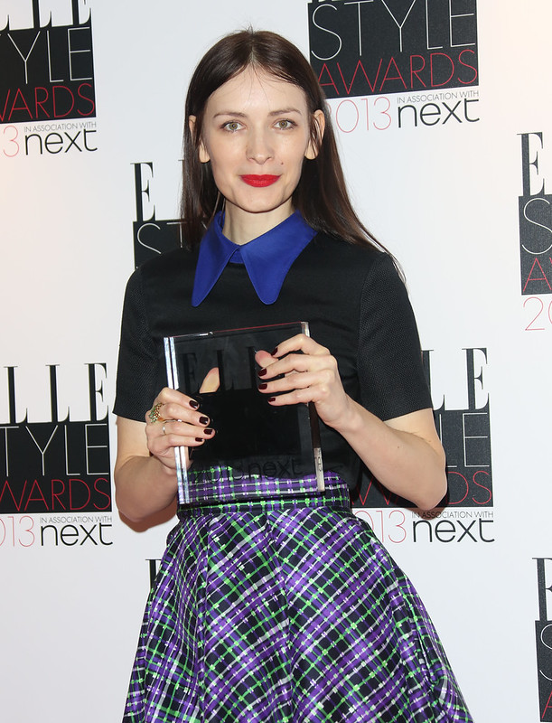 Red Carpet Fashion winner The Elle Style Awards 2013 held at the Savoy - press room Featuring: Roksanda Ilincic - WENN.com