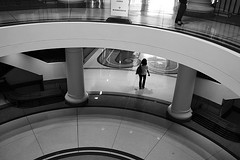 woman in rotunda (minus6) Tags: minus6