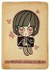 Mientras tanto en la pancita... (Anita Mejia) Tags: life cute love illustration pen ink cat day journal kitty doodle gato kawaii sanvalentin 14defebrero chocolatita anitamejia
