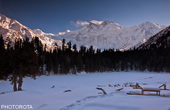 EXTENSIVE BEAUTY  ---  FAIRY MEADOW (PHOTOROTA) Tags: winter pakistan mountain snow nature nikon flickr peak abid nangaparbat flickrbronzetrophygroup photorota