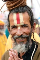 Sadhu at Kumbh (RajivSinha Photography) Tags: