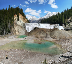 896-10 (Joe-Lynn Design) Tags: park mountain canada national rockymountains yoho waptafalls