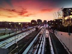Sunset at Brynseng