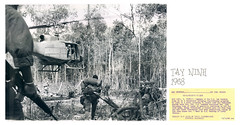 1968 Helicopter Lands Jungle Clearing US Soldiers Vietnam War UPI Photo