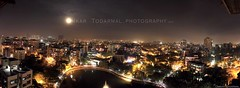 Thane - Lakes City Panorama (Omii Todarmal) Tags: light panorama india night tmc lights pano panoramic midnight maharashtra nightlife thane mumbai lakecity cityatnight indianart lightmagic indianfestival nightpanorama incredibleindia indianartist maharashtratourism cityinnight cityoflake openairworkshop thanestreets thanecityoflakes tourismmaharashtra