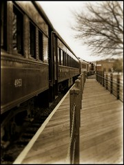All aboard..... (Patlees) Tags: sepia train nc spencer transportationmuseum