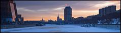 Moscow. Dorogomilovo District. (Yuri Degtyarev) Tags: city winter snow color skyscraper photoshop lens skyscrapers moscow district sony tripod adobe soviet m42 pro alpha 44 ussr lightroom 442 neutral 582 slik  cokin nex stalinist gradual  biotar   helios442 efex gnd8 p121s   dorogomilovo 442   42 nexc3