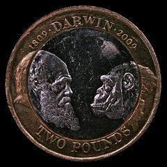 Two Pound Coin: Charles Darwin (Tim Dennell) Tags: pictures uk photography tim coin photos sheffield birth darwin charlesdarwin photographs gb british currency £2 200thanniversary twopound dennell timdennell dennel timdennellphotography timdennel timdenel