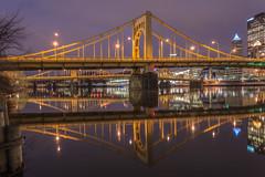 Pittsburgh (5 Million Views www.DelensMode.com) Tags: longexposure bridge sky reflection pittsburgh pennsylvania pyramids steelers d600 nikonshooter ishootraw ilovenikon d700 d7000 mauriciofernandez cityporn exposureporn delensmode wwwdelensmodecom delensemode