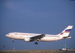 'F-BVGI' Air Charter A300B4 (Longreach - Jonathan McDonnell) Tags: ireland dublin france slide airbus 1991 1990s airfrance dublinairport a300 nikoncoolscanved scanfromaslide eidw 495004 aircharterfrance