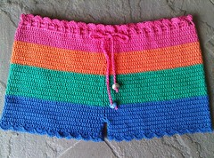 Color Block Shorts - Ta Dah!!!!! (LauraLRF) Tags: color beach thread pants handmade crochet playa colores clothes cotton mano hippie block shorts hilo chic lacy ropa handcraft pantalon hecho algodon ganchillo puntilla pantaloncillos