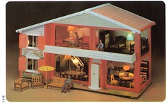 Leisure Industries 1981 Toy Works My First Home 1316 Lodge (Rebecca's Collections) Tags: vintage plastic devon 1970s 1980s dollhouse dollshouse bideford wader modella toyworks leisureindustries