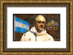 Che Ovejus Sanctus (Peter Solano. Pursuing a dream!) Tags: pope argentinian man oveja flag argentina papalregaliaandinsignia